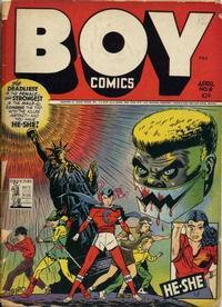 Cover Thumbnail for Boy Comics (Lev Gleason, 1942 series) #9