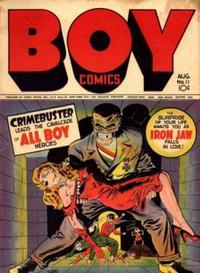 Cover Thumbnail for Boy Comics (Lev Gleason, 1942 series) #11