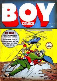 Cover Thumbnail for Boy Comics (Lev Gleason, 1942 series) #14