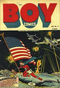Cover Thumbnail for Boy Comics (Lev Gleason, 1942 series) #17
