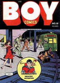 Cover Thumbnail for Boy Comics (Lev Gleason, 1942 series) #19