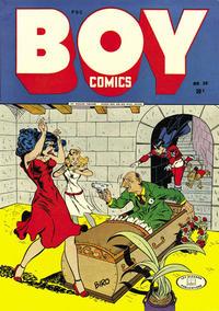 Cover Thumbnail for Boy Comics (Lev Gleason, 1942 series) #20
