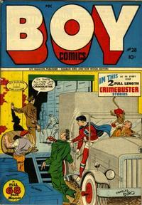 Cover Thumbnail for Boy Comics (Lev Gleason, 1942 series) #28