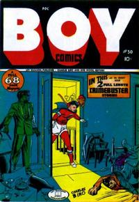 Cover Thumbnail for Boy Comics (Lev Gleason, 1942 series) #30