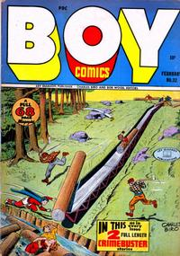 Cover Thumbnail for Boy Comics (Lev Gleason, 1942 series) #32