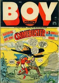 Cover Thumbnail for Boy Comics (Lev Gleason, 1942 series) #33
