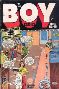 Cover Thumbnail for Boy Comics (Lev Gleason, 1942 series) #40