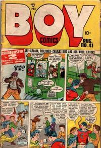 Cover Thumbnail for Boy Comics (Lev Gleason, 1942 series) #41