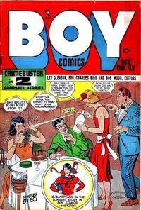 Cover Thumbnail for Boy Comics (Lev Gleason, 1942 series) #42