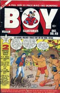 Cover Thumbnail for Boy Comics (Lev Gleason, 1942 series) #49
