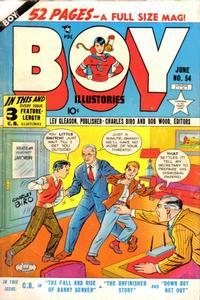 Cover Thumbnail for Boy Comics (Lev Gleason, 1942 series) #54