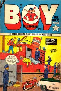 Cover Thumbnail for Boy Comics (Lev Gleason, 1942 series) #72
