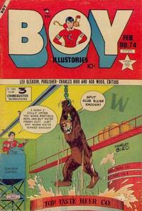 Cover Thumbnail for Boy Comics (Lev Gleason, 1942 series) #74