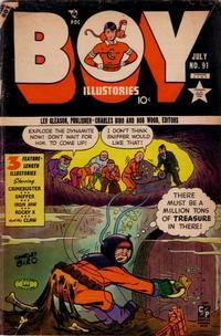 Cover Thumbnail for Boy Comics (Lev Gleason, 1942 series) #91