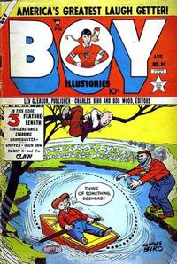 Cover Thumbnail for Boy Comics (Lev Gleason, 1942 series) #92