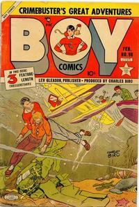 Cover Thumbnail for Boy Comics (Lev Gleason, 1942 series) #98
