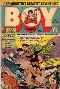 Cover Thumbnail for Boy Comics (Lev Gleason, 1942 series) #105