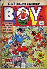 Cover Thumbnail for Boy Comics (Lev Gleason, 1942 series) #107