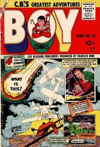 Cover Thumbnail for Boy Comics (Lev Gleason, 1942 series) #110