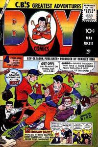 Cover Thumbnail for Boy Comics (Lev Gleason, 1942 series) #111