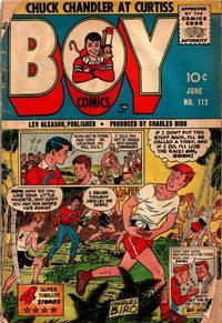 Cover Thumbnail for Boy Comics (Lev Gleason, 1942 series) #112