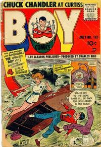 Cover Thumbnail for Boy Comics (Lev Gleason, 1942 series) #113