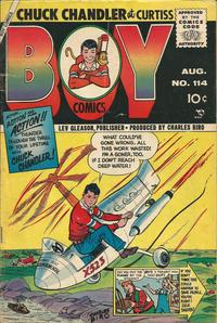 Cover Thumbnail for Boy Comics (Lev Gleason, 1942 series) #114
