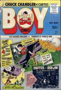 Cover Thumbnail for Boy Comics (Lev Gleason, 1942 series) #115