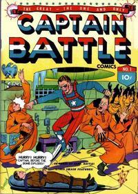 Cover Thumbnail for Capt. Battle Comics (Lev Gleason, 1941 series) #1