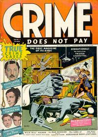 Cover Thumbnail for Crime Does Not Pay (Lev Gleason, 1942 series) #22