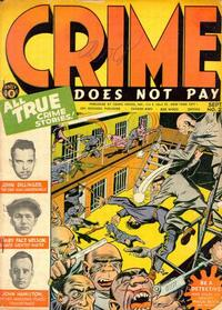 Cover Thumbnail for Crime Does Not Pay (Lev Gleason, 1942 series) #23