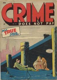 Cover Thumbnail for Crime Does Not Pay (Lev Gleason, 1942 series) #39
