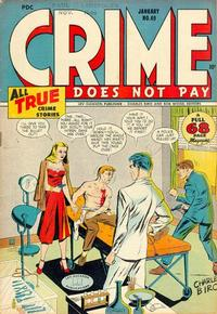 Cover Thumbnail for Crime Does Not Pay (Lev Gleason, 1942 series) #49