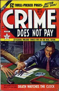 Cover Thumbnail for Crime Does Not Pay (Lev Gleason, 1942 series) #91