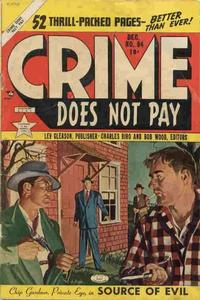 Cover for Crime Does Not Pay (Lev Gleason, 1942 series) #94