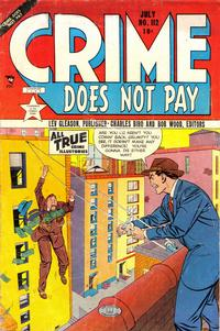 Cover Thumbnail for Crime Does Not Pay (Lev Gleason, 1942 series) #112
