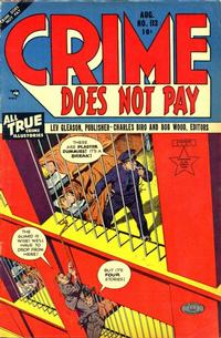 Cover Thumbnail for Crime Does Not Pay (Lev Gleason, 1942 series) #113