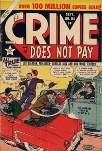 Cover Thumbnail for Crime Does Not Pay (Lev Gleason, 1942 series) #114