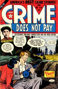 Cover Thumbnail for Crime Does Not Pay (Lev Gleason, 1942 series) #118