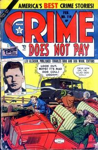 Cover Thumbnail for Crime Does Not Pay (Lev Gleason, 1942 series) #119