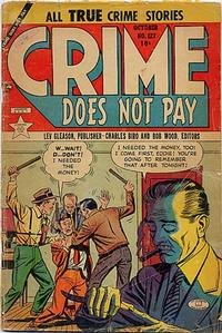 Cover Thumbnail for Crime Does Not Pay (Lev Gleason, 1942 series) #127