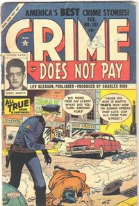 Cover Thumbnail for Crime Does Not Pay (Lev Gleason, 1942 series) #131