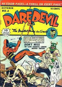 Cover Thumbnail for Daredevil Comics (Lev Gleason, 1941 series) #4