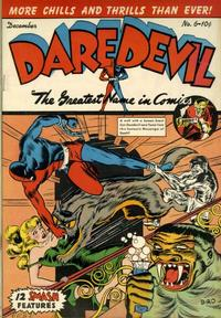 Cover Thumbnail for Daredevil Comics (Lev Gleason, 1941 series) #6