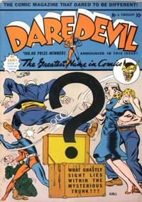 Cover Thumbnail for Daredevil Comics (Lev Gleason, 1941 series) #7 (6)