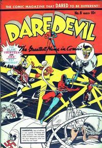 Cover Thumbnail for Daredevil Comics (Lev Gleason, 1941 series) #8
