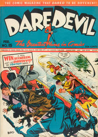 Cover Thumbnail for Daredevil Comics (Lev Gleason, 1941 series) #15