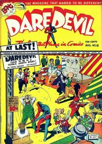 Cover Thumbnail for Daredevil Comics (Lev Gleason, 1941 series) #18
