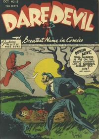 Cover Thumbnail for Daredevil Comics (Lev Gleason, 1941 series) #19