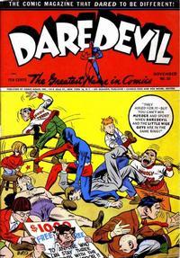 Cover Thumbnail for Daredevil Comics (Lev Gleason, 1941 series) #20